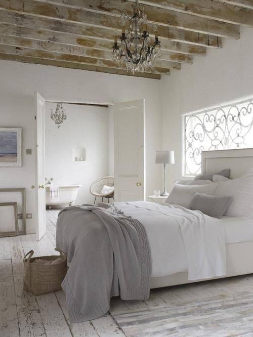 Интерьер спальни в стиле шебби шик: 33 фото