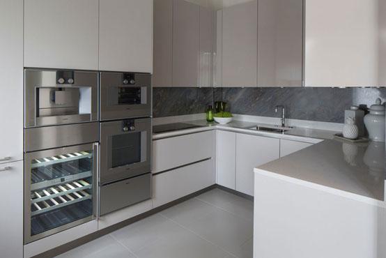 Богатый интерьер квартиры в Лондоне