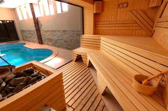 Внутренняя планировка бани