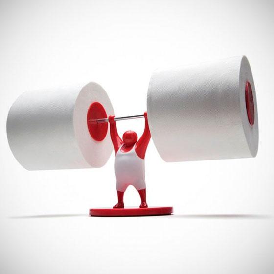 40 оригинальных держателей для туалетной бумаги