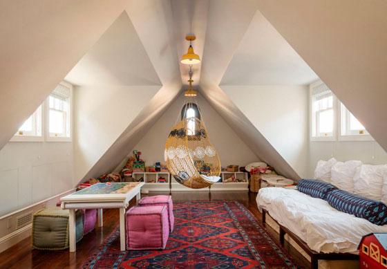 Дети будут счастливы жить в такой комнате