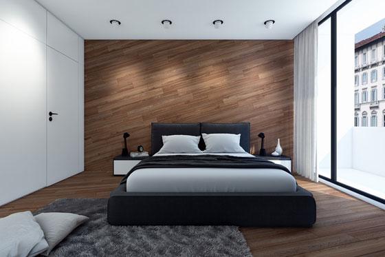 5 важных правил оформления интерьера спальни с окнами на север
