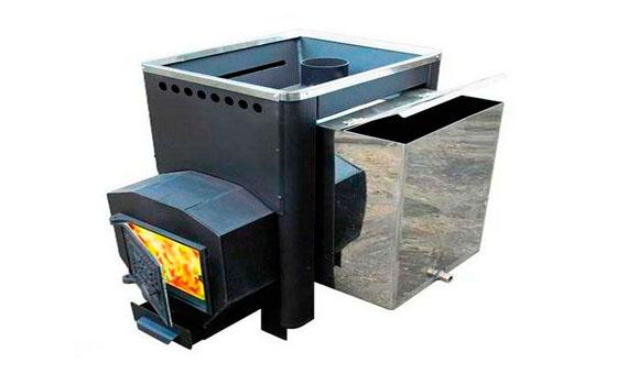 Печь, комбинированная с баком