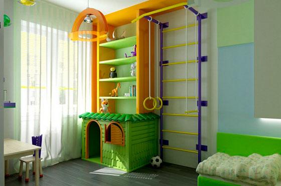 детская комната для 2 мальчиков дизайн