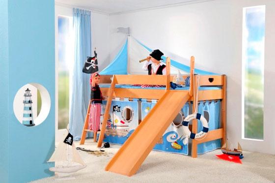 интерьер детской для двух мальчиков разного возраста