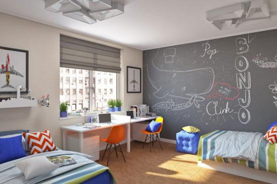 Дизайн детской для двух мальчиков – организация пространства для будущих мужчин