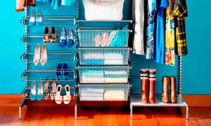 Гардеробные комнаты маленьких размеров: 31 фото