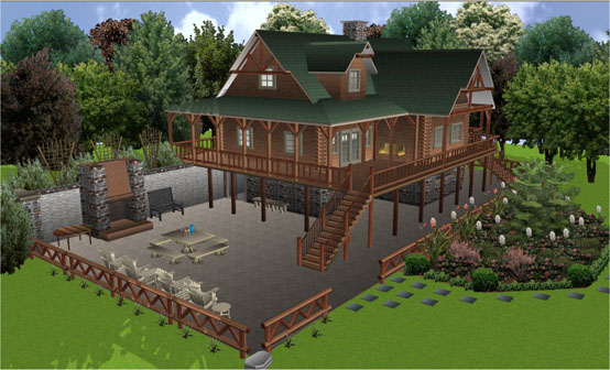 7. Punch Home Design-1